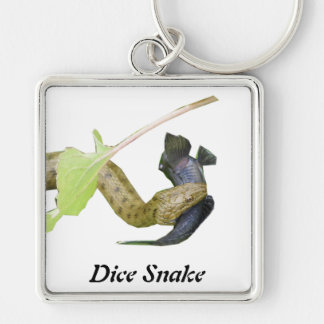 Dice Snake Keychains