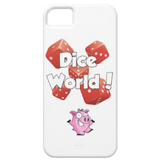 Dice World! iPhone Case 5/5S