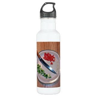 Diced Vegetables Water Bottle