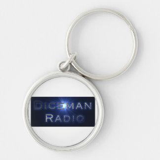Diceman Radio Keychain