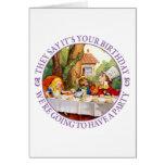 Dicen que es su cumpleaños… tarjeta de felicitación