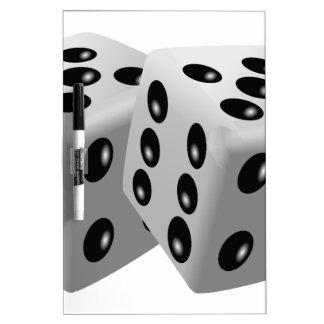 Dices Dry Erase Board