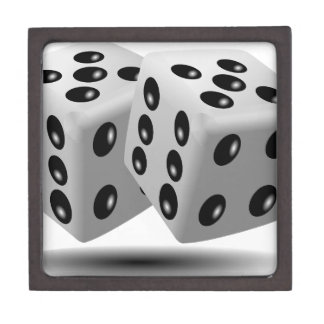 Dices Game Gambling Cubes Numbers Luck Random Premium Trinket Boxes