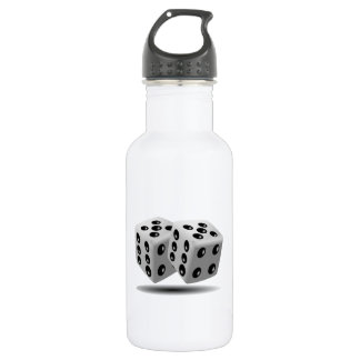 Dices Image Water Bottle