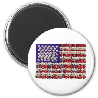 Dicey Future 2 Inch Round Magnet