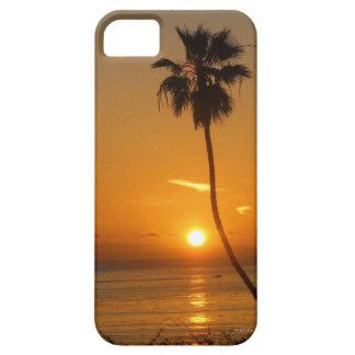 Dicha de la puesta del sol iPhone 5 carcasas