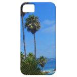 Dicha de las palmeras y del océano de Laguna iPhone 5 Cárcasa