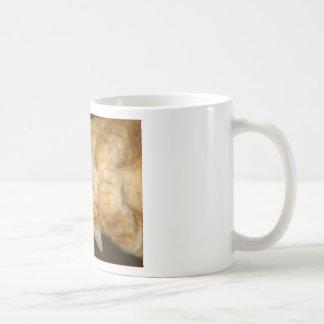Dicha del jengibre taza básica blanca