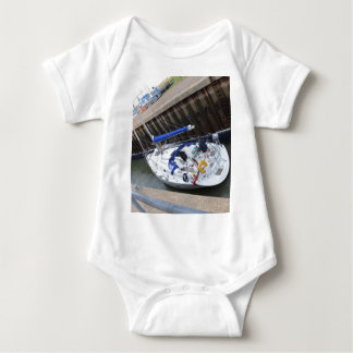 Dicha del yate en la cerradura body para bebé