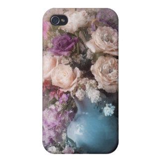 Dicha floral iPhone 4 carcasa