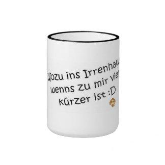 Dicho, vaso taza de café