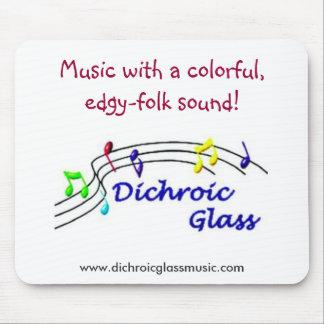 Dichroic Glass Mousepad