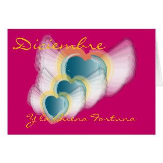 """""""Diciembre y la Buena Fortuna"""" - Customize Card"""