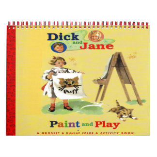 Dick and Jane Color Calendar