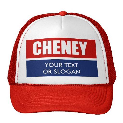 DICK CHENEY 2012 TRUCKER HATS