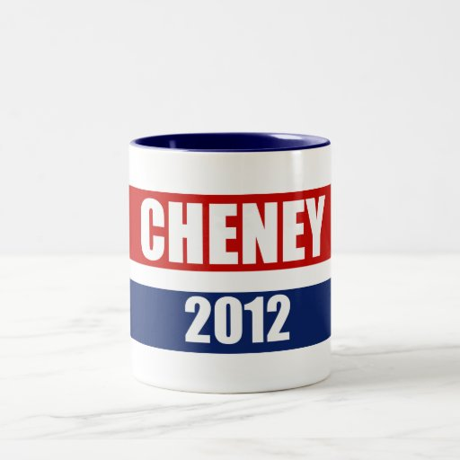 DICK CHENEY 2012 MUG