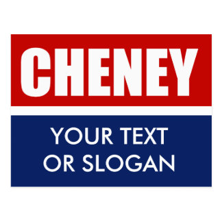 DICK CHENEY 2012 POST CARD