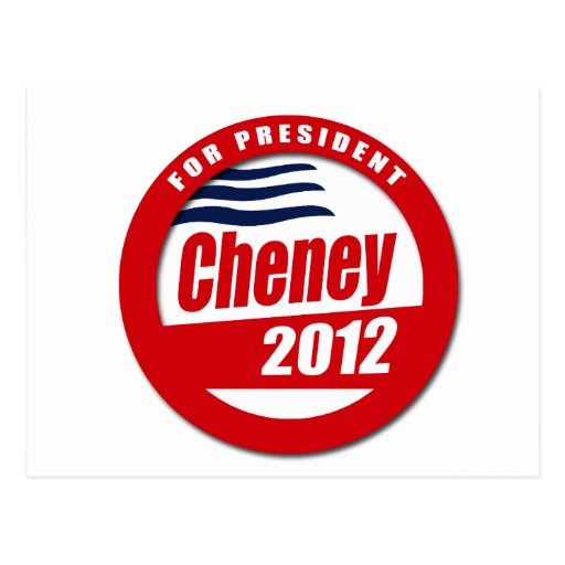 Dick Cheney 2012 Postcards
