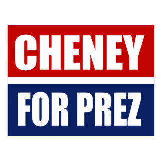 DICK CHENEY 2012 POST CARDS