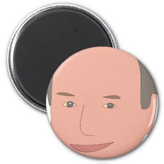 Dick Cheney 2 Inch Round Magnet