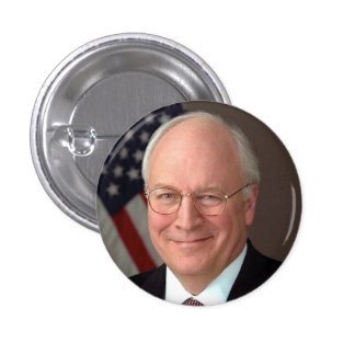 Dick Cheney Button