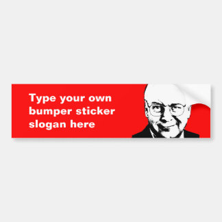 Dick Cheney Pegatina De Parachoque