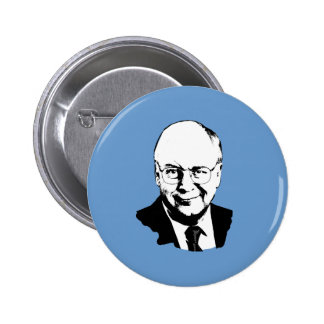 Dick Cheney Gear Pinback Button