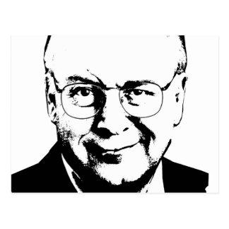 Dick Cheney Gear Post Card