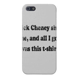 Dick Cheney me tiró y toda lo que conseguí era est iPhone 5 Protector