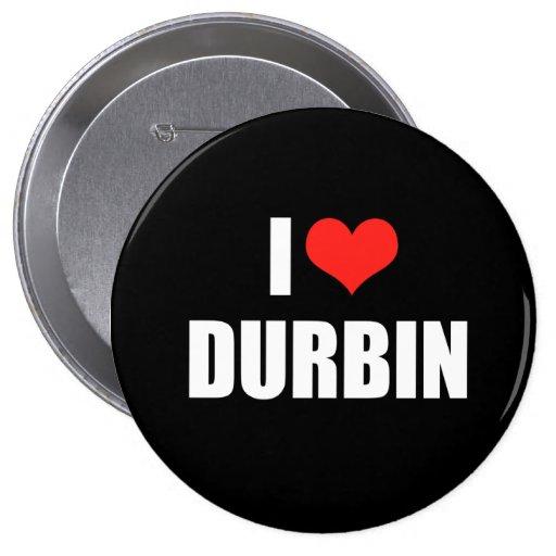DICK DURBIN Election Gear Pin