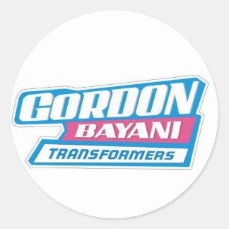 Dick Gordon Classic Round Sticker