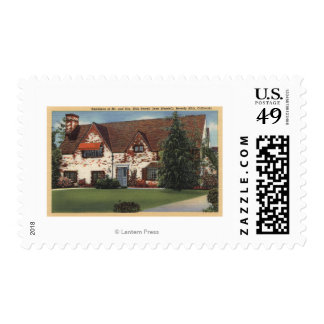 Dick Powell and Joan Blondell's Home Postage