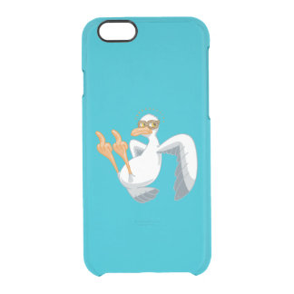 """Dick Seagull—""""The Bird"""" Clear iPhone 6/6S Case"""
