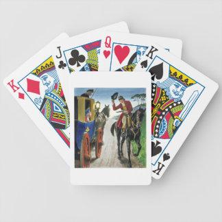"""Dick Turpin (1706-39) de """"píos en el pasado"""", Baraja Cartas De Poker"""