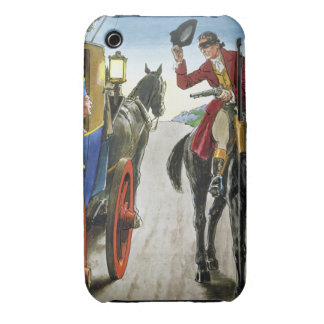 Dick Turpin (1706-39) from 'Peeps into the Past', iPhone 3 Case