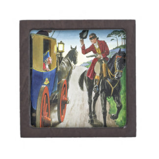 Dick Turpin (1706-39) from 'Peeps into the Past', Premium Jewelry Boxes
