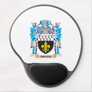 Dicken Coat of Arms - Family Crest Gel Mouse Pad