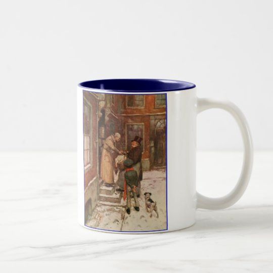 Dickens A Christmas Carol Scrooge's Goose Two-Tone Coffee