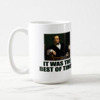 Dickens: Best and Worst Classic White Coffee Mug