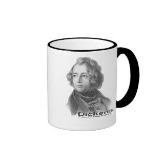 Dickens-Best of Times mug-BW Ringer Mug