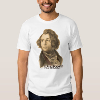 Dickens-Best of Times shirt-sepia T Shirt