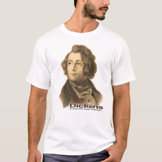 Dickens-Best of Times shirt-sepia T-Shirt