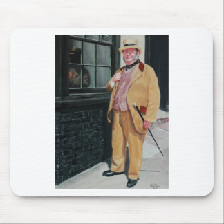 Dickens character mousemat