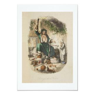 "Dickens Christmas Card 3.5"" X 5"" Invitation Card"