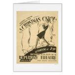 Dickens Christmas Carol 1938 WPA Card