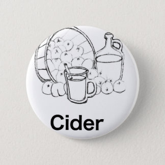 Dickens Cider Nothing feels quite as good Pinback Button