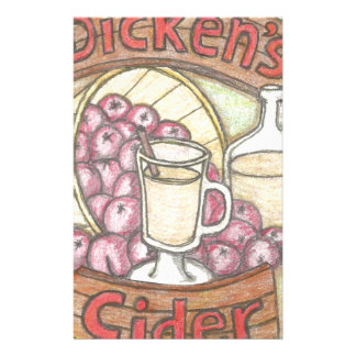 Dickens Cider nothing feels quite as good Stationery