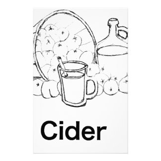 Dickens Cider Stationery