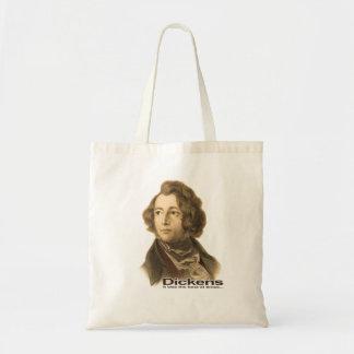 Dickens-El mejor de bolso-sepia de las épocas Bolsa Lienzo