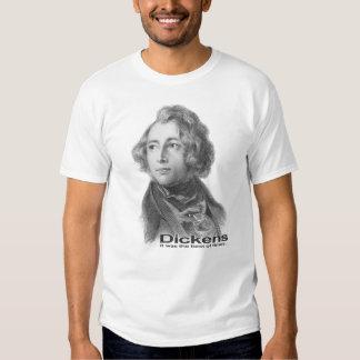Dickens-El mejor de los tiempos camisa-BW Playera